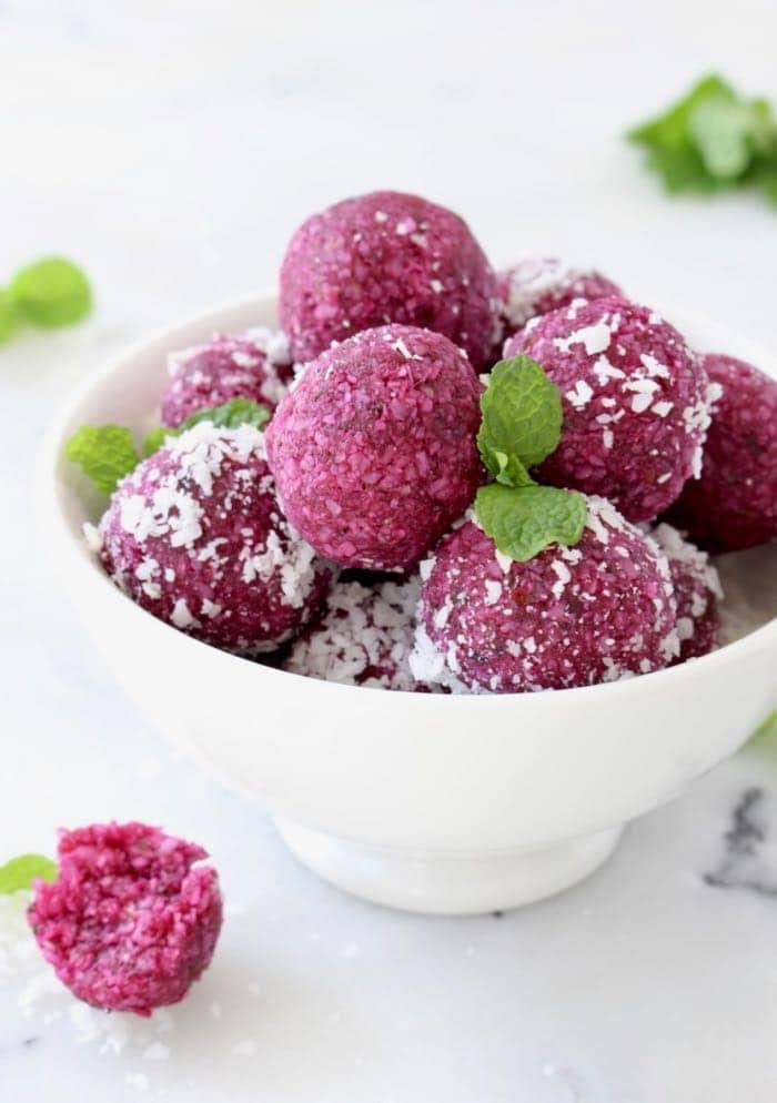 Vegan Coconut Date Balls Recipe