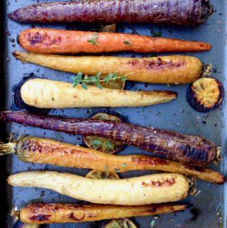 Vegan Roasted Carrots