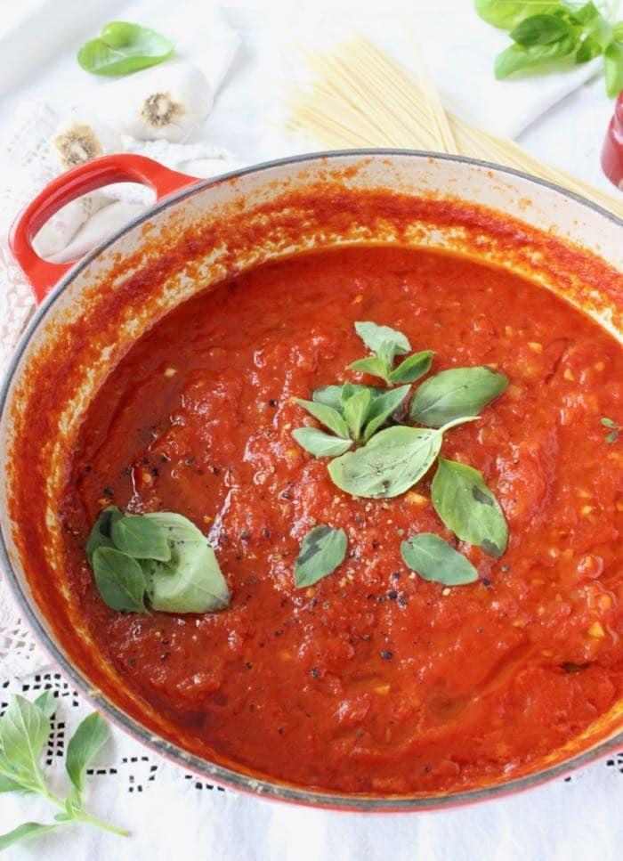 Vegan Tomato Sauce - Authentic Italian Recipe