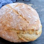 Crusty Vegan Bread