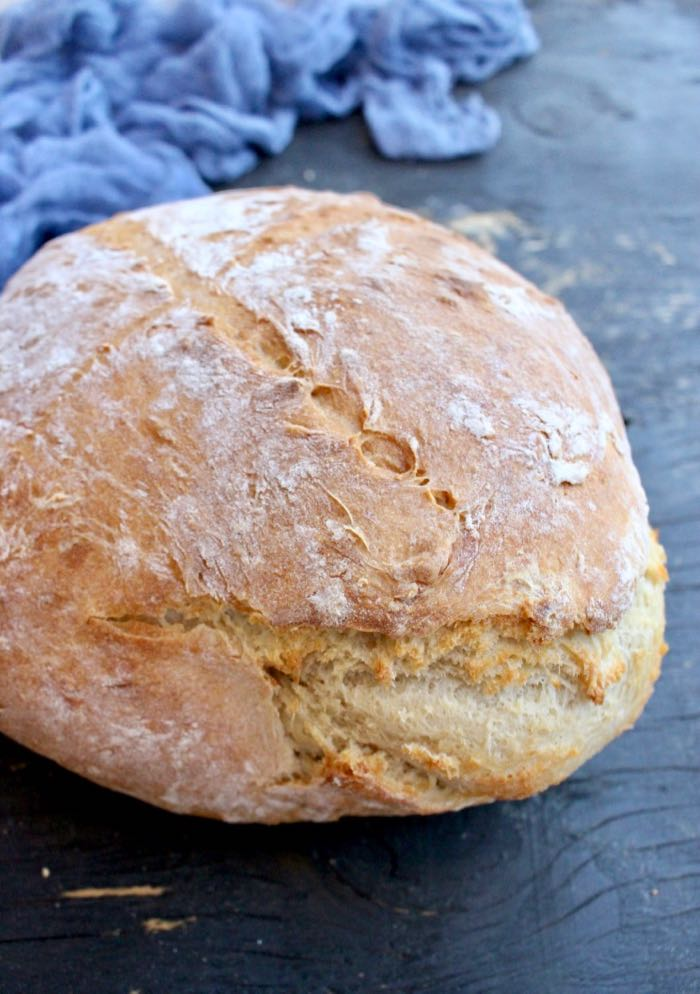 Easy Fabulous Vegan Bread - no-knead homemade bread recipes