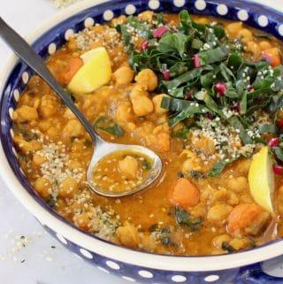 Easy Chickpea Stew Recipe – Vegan