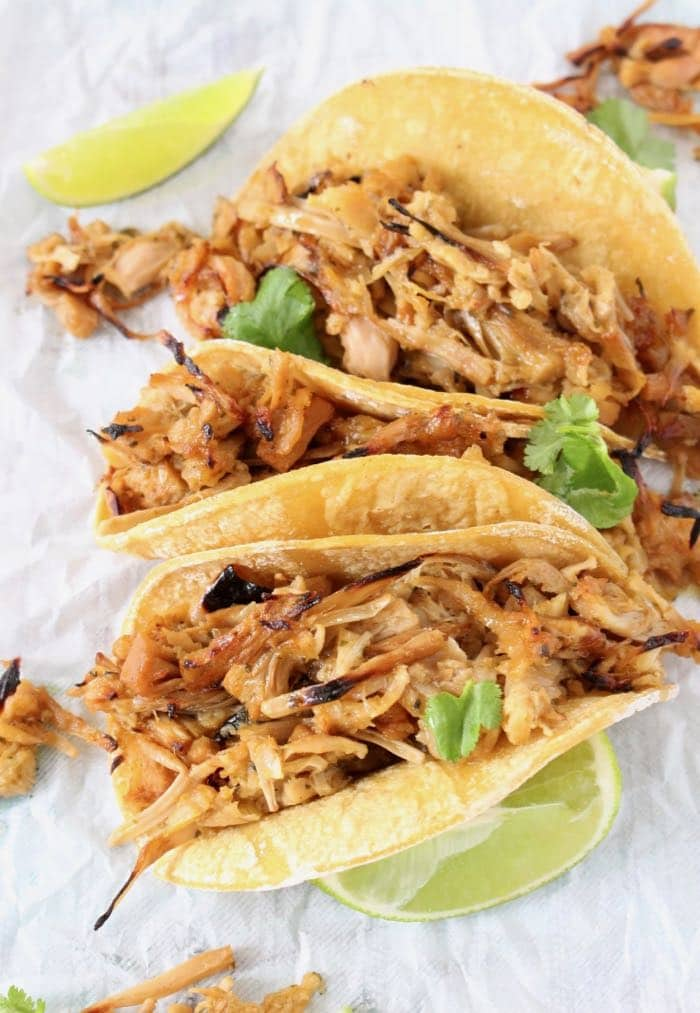 Mexican Style Jackfruit Carnitas Tacos Recipe
