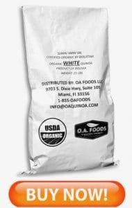 Organic White Quinoa Bulk