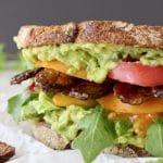Avocado Tempeh Sandwich