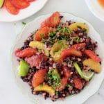 Farro Black Rice Salad