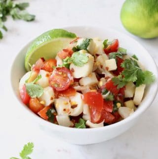 Hearts of Palm Ceviche Recipe ~ Vegan