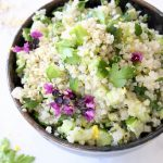 Lemon Quinoa Cucumber Salad