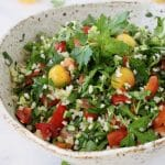 Healthy Bulgur Wheat Salad Tabouli