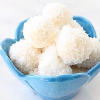 No Bake Coconut Snowballs Recipe