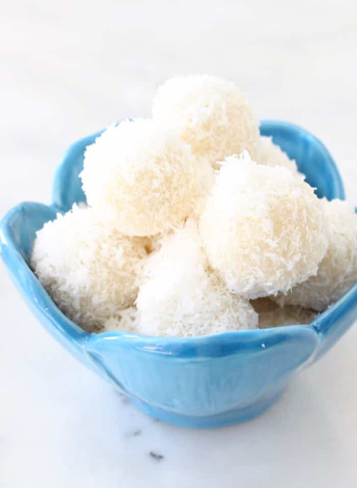 No Bake Coconut Snowballs Recipe