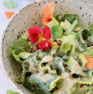 Best Vegan Caesar Salad Dressing Recipe