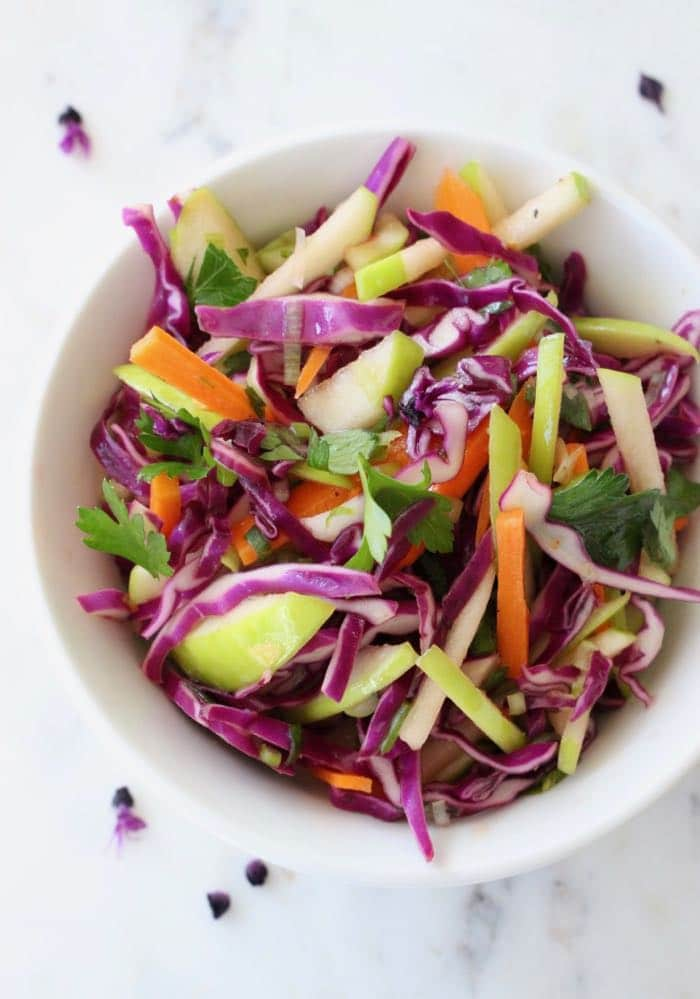 What kind of apples would work well in this Apple Cole Slaw recipe?
