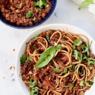Lentil Mushroom Ragu Recipe