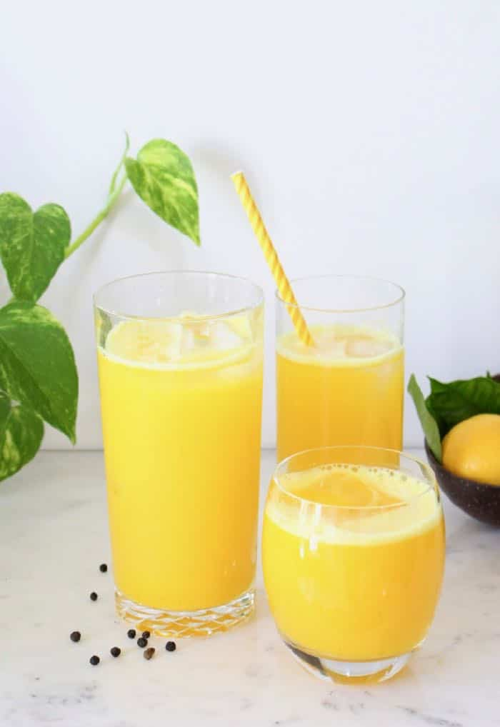Ginger Turmeric Lemonade Recipe