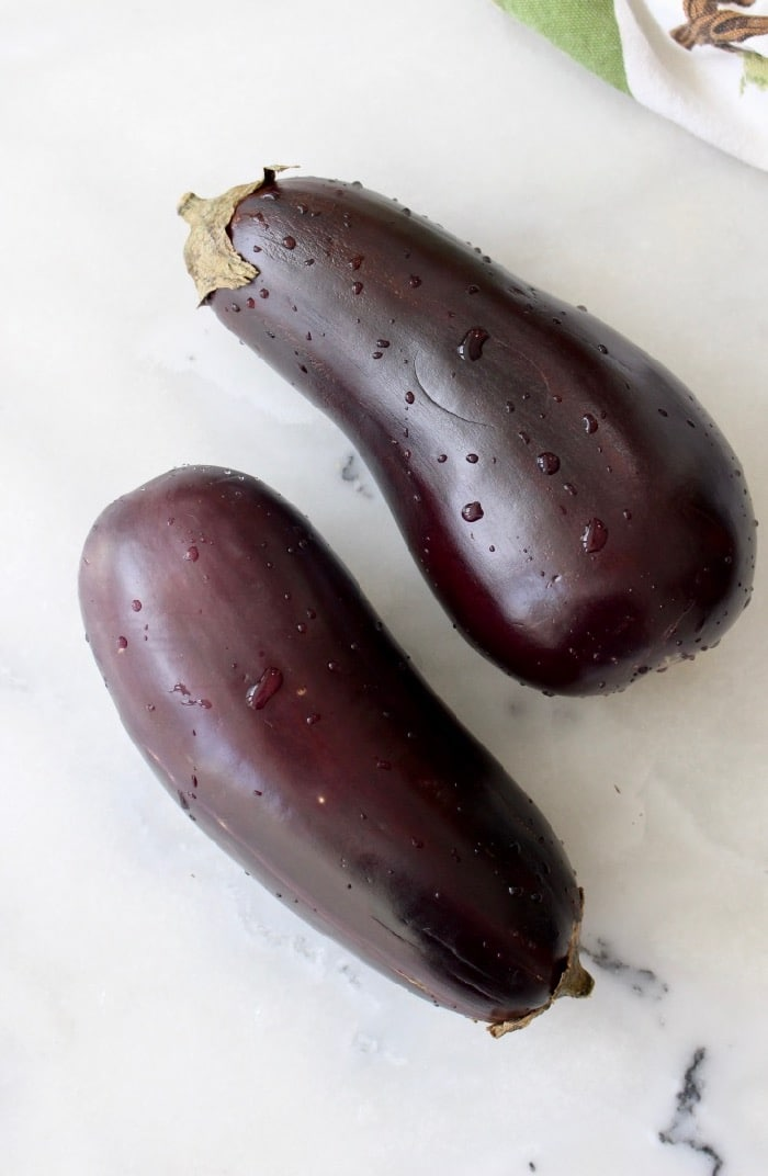 Roasted Eggplant Ragu Polenta