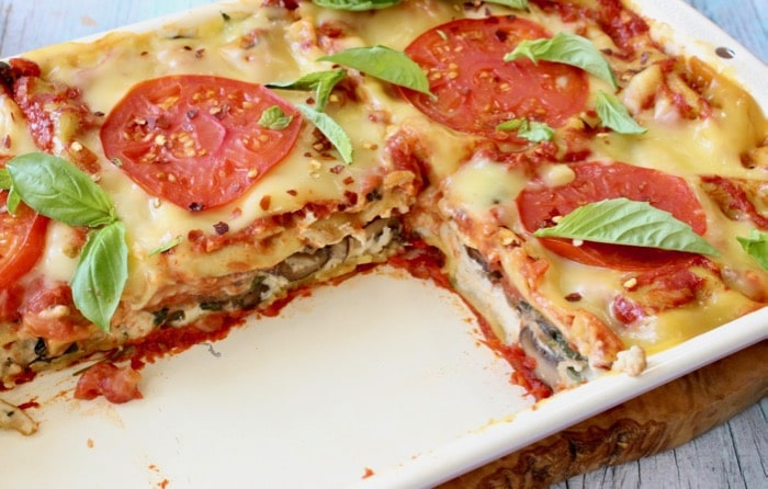 The Best Plant Based Lasagna