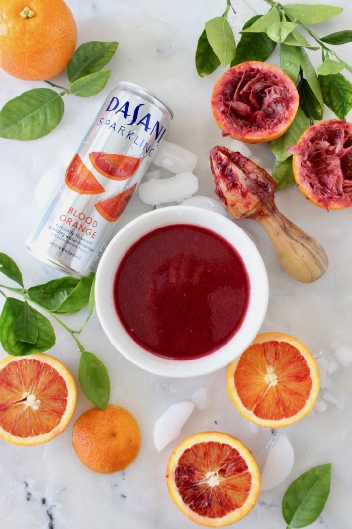 Red Blood Orange Sangria, the perfectly festive wintertime drink