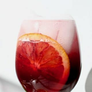 Red Blood Orange Sangria