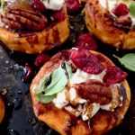 Roasted Sweet Potato Rounds Appetizers
