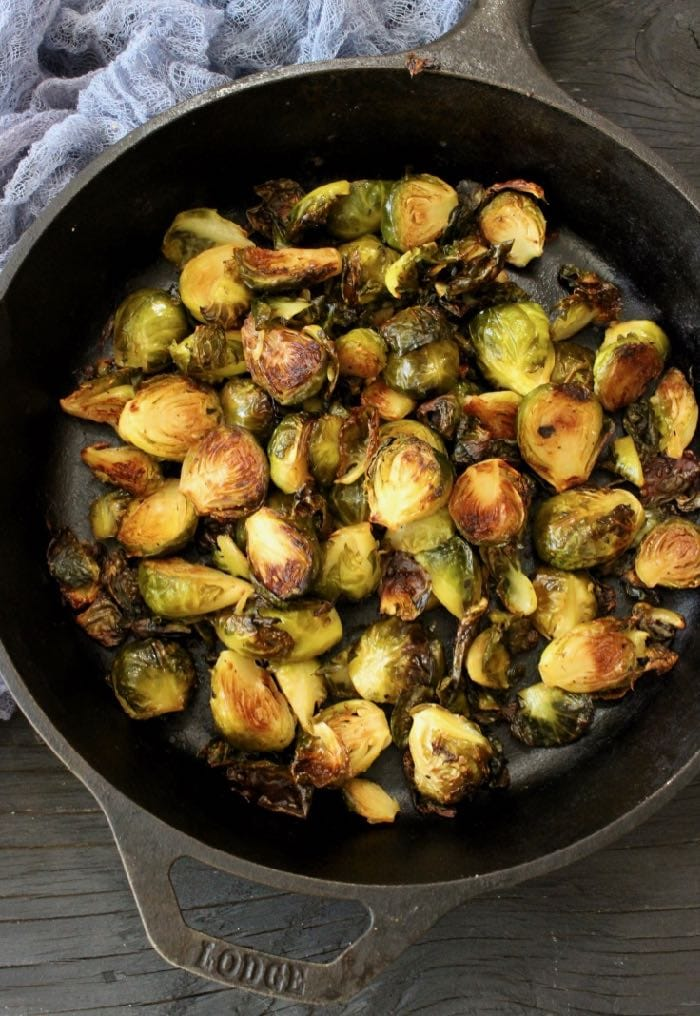 The Best Oven Roasted Brussels Sprouts Recipe