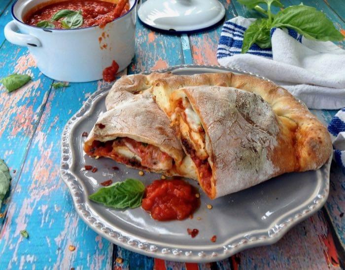 Best Oven Baked Vegan Calzone