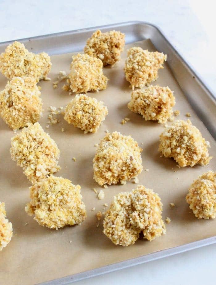 Panko Coated Tofu Nuggets