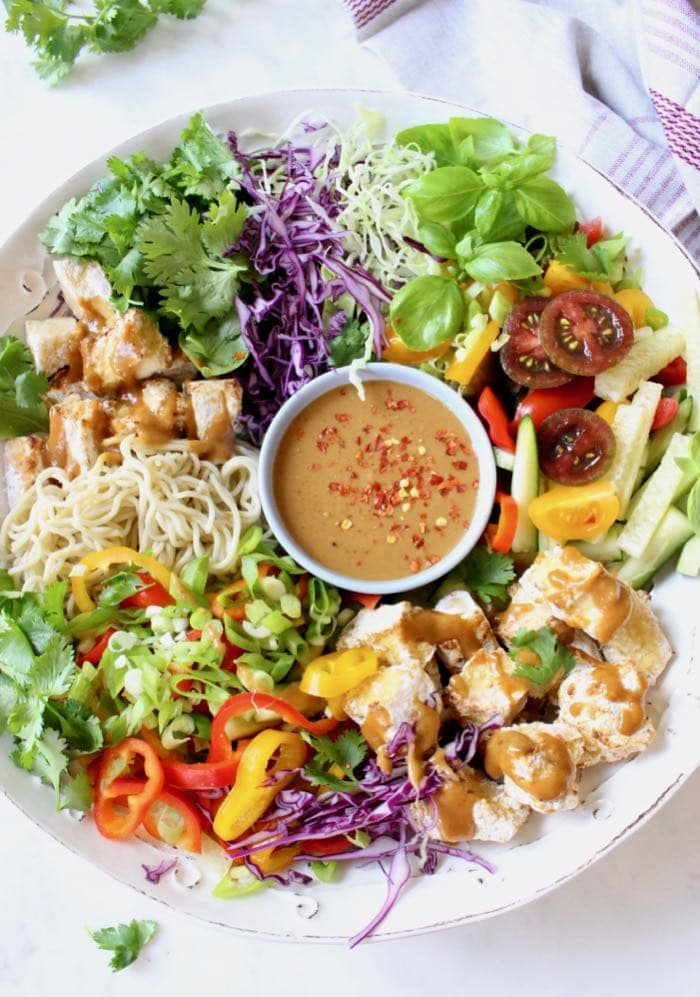Loaded Veggie Noodle Bowl