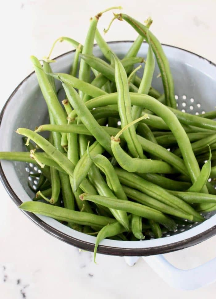 Fresh Green String Beans