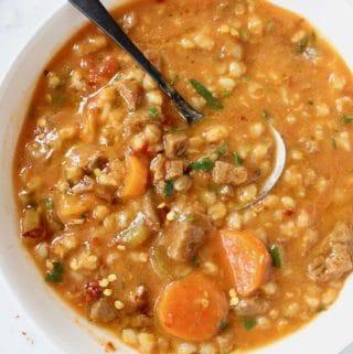 Barley Vegan Beef Stew