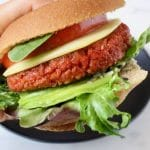 Vegan Veggie Burger Patties