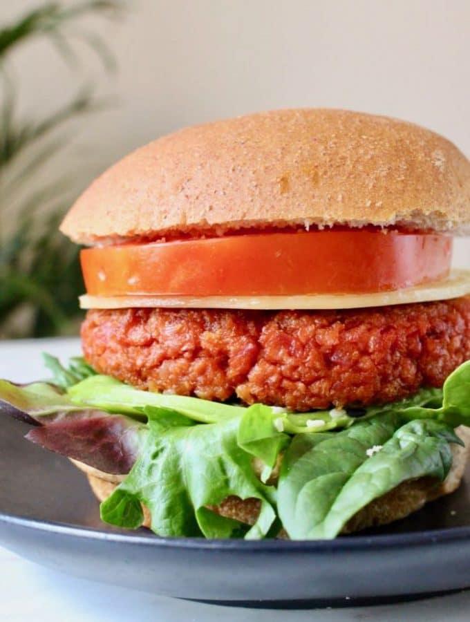 Vegan Veggie Burger Patties (5)