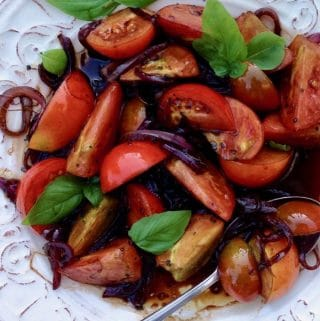 Italian Balsamic Tomatoes