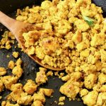 Eggy Vegan Tofu Scramble with Turmeric and Kala Namak
