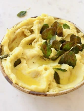 The Best Olive Oil Mashed Potatoes