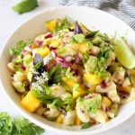 Best vegan ceviche with mango, avocado and lime