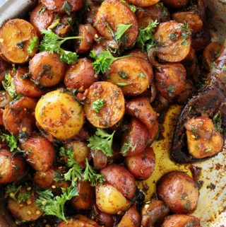 Rustic Paprika Potatoes