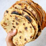 Vegan Potato Flatbread Recipe (No Yeast)