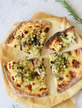 Potato Pizza Recipe (Vegan)
