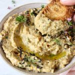 Creamy Vegan Baba Ganoush