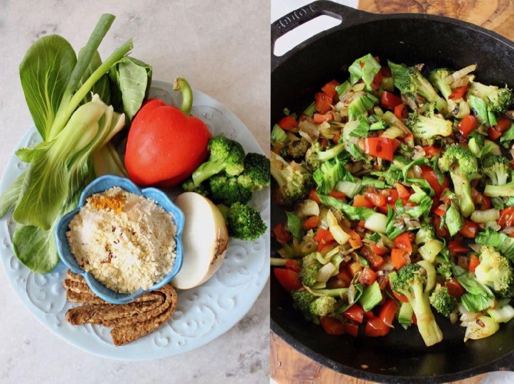 Veggie Frittata Ingredients