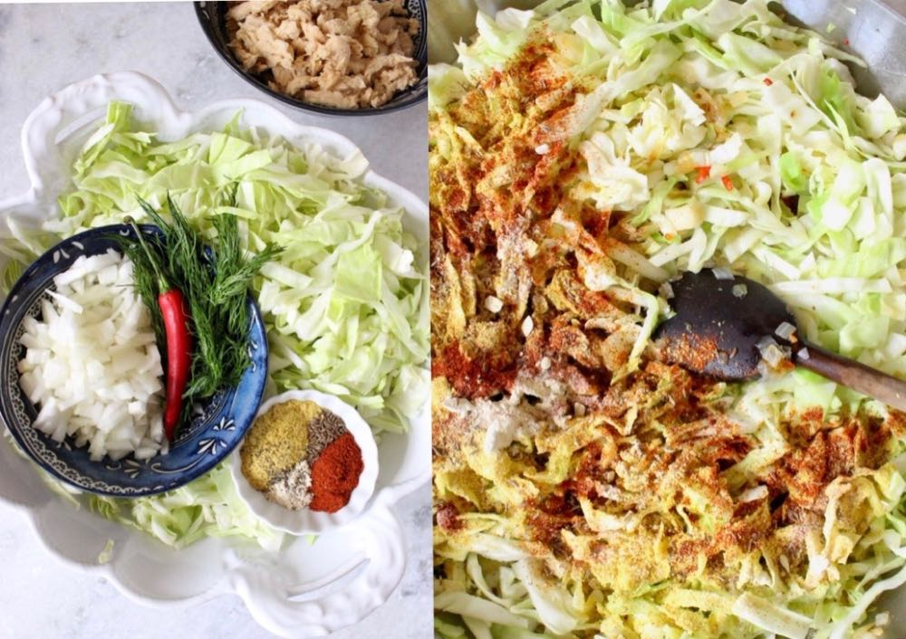 sauteed cabbage ingredients