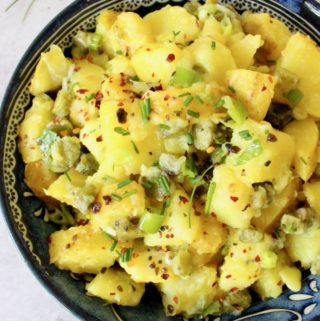 Vegan Eggless Potato Salad
