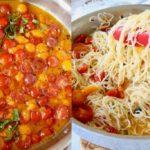 cherry tomato basil pasta