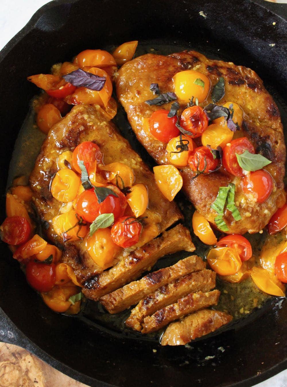 best vegan steak made from sietan