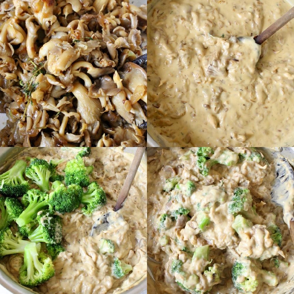 Vegan Broccoli Casserole Step by Step Recipe
