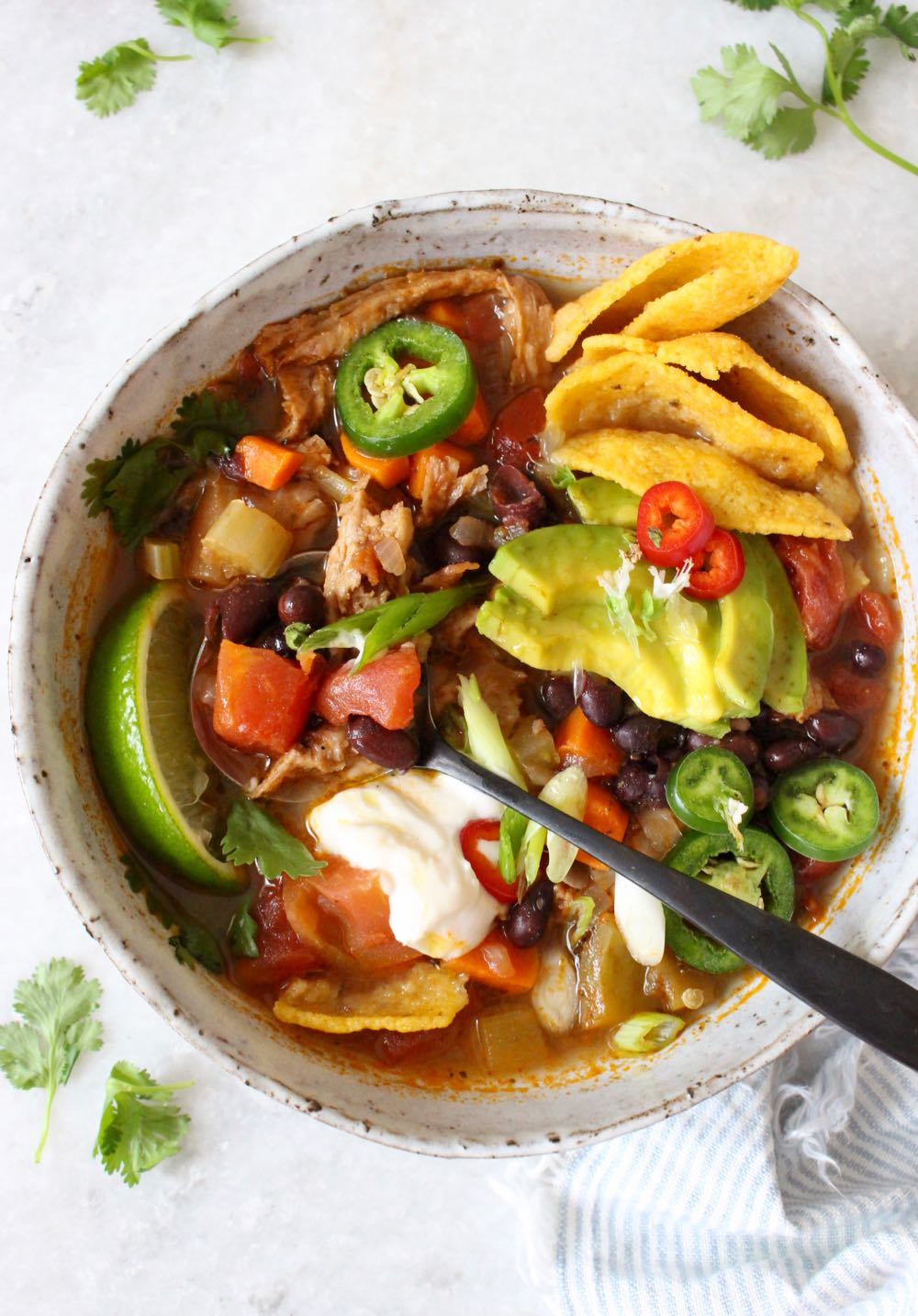 How to Make Vegan Chicken Tortilla Soup