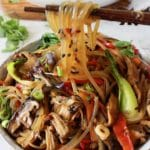 Korean Glass Noodles Stir Fry
