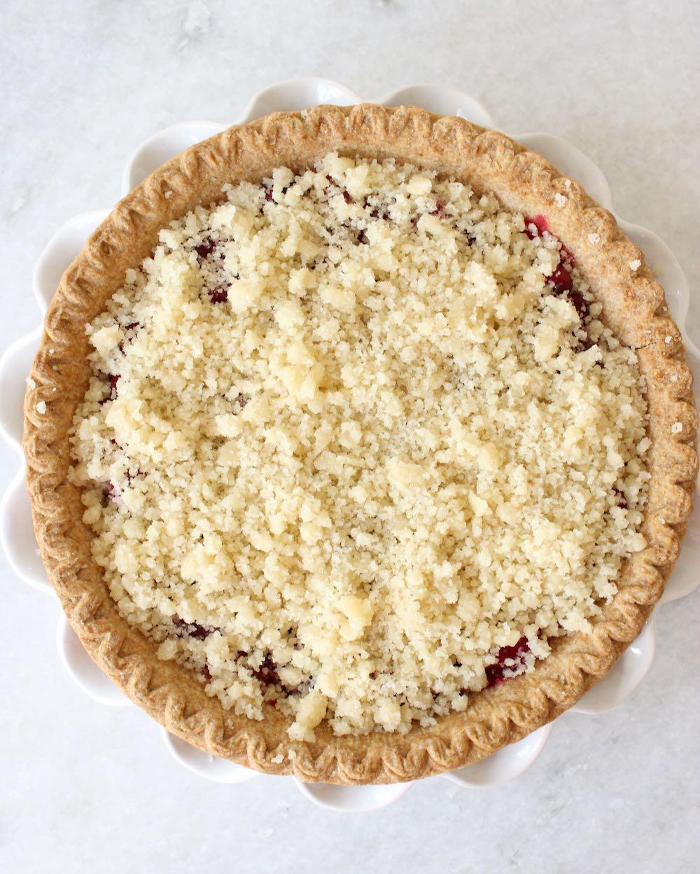 Vegan Streusel Topping for Pie