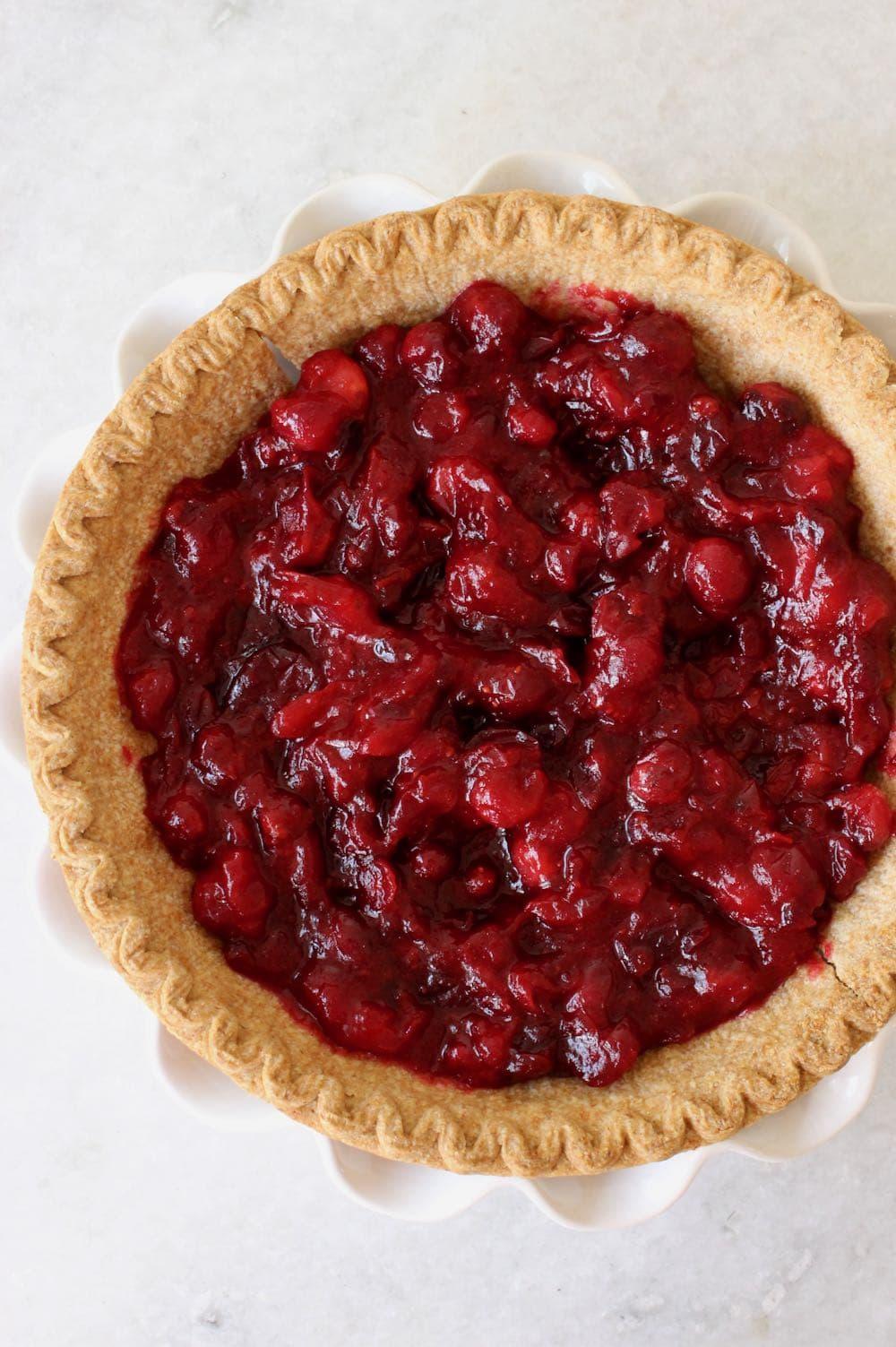 Orange Cranberry Pie Filling